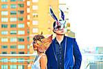 Leather masks by OD Alchemy by Aycrith