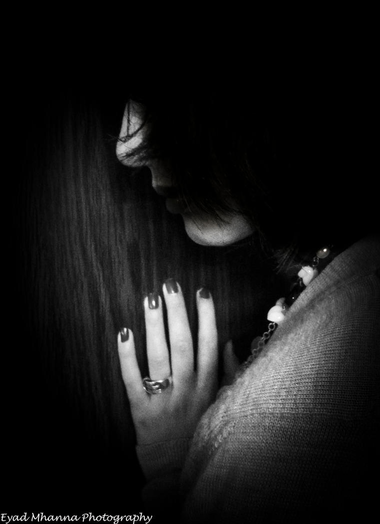 Sad lonely girl by eyadoos on deviantart