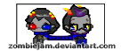 SolEri pixel avatars by zombiejam