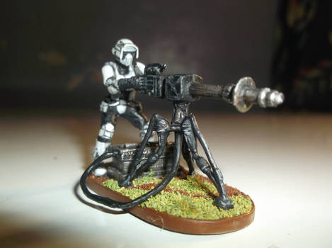 Imperial Assault - Stormtrooper EWEB Repeater by lord-seth