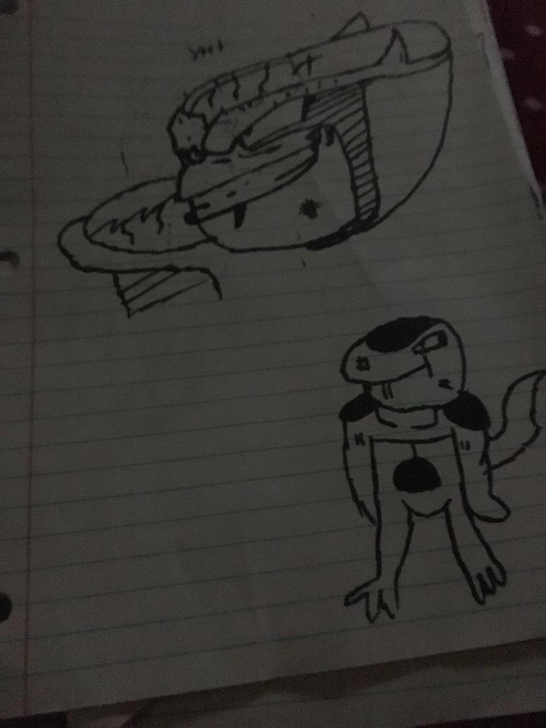 Frieza doodles by TheNinjasShade25