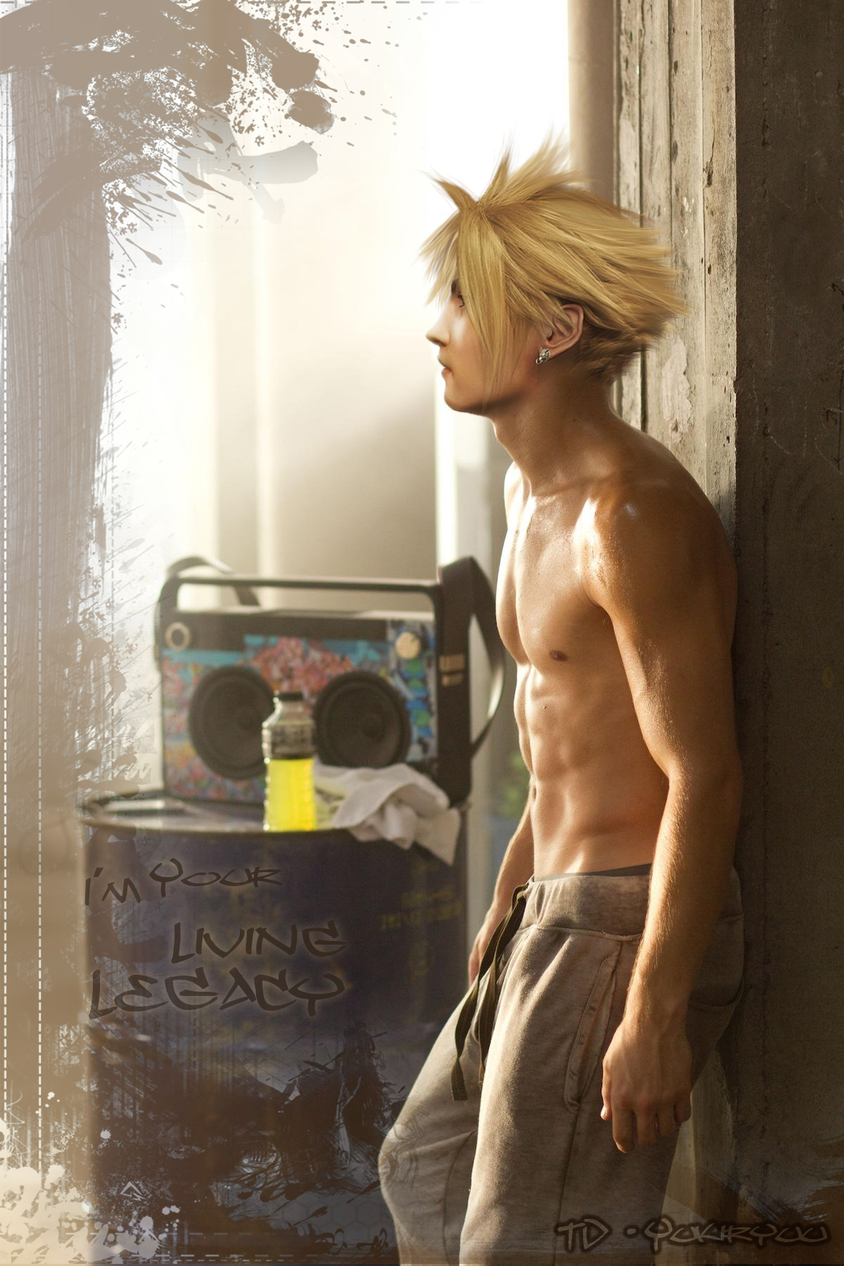 Cloud Strife: I'm Your Living Legacy by TD-Yukiryuu