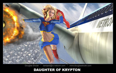 Daughter Of Krypton by DouglasShuler