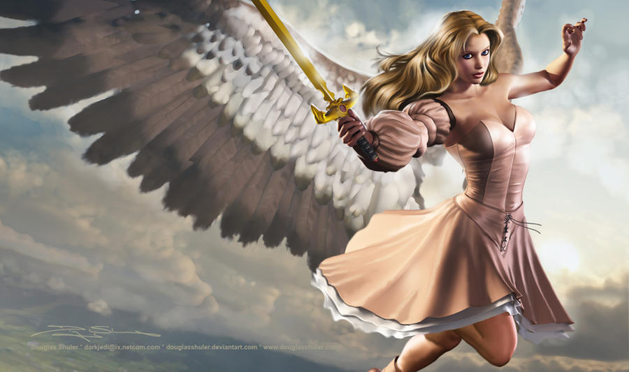 Serra Angel by DouglasShuler