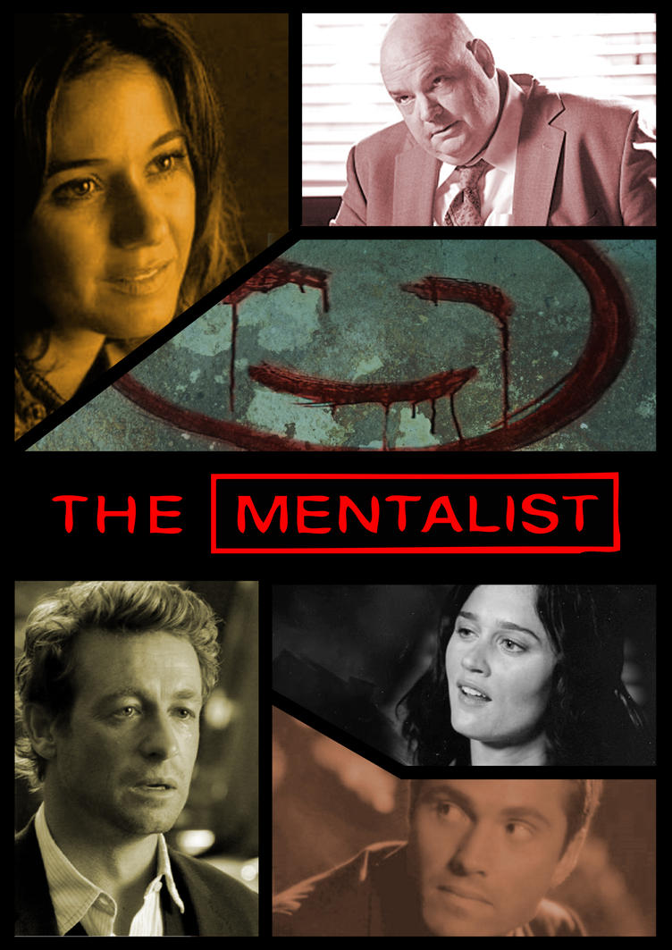 The Mentalist Poster By Morrisby