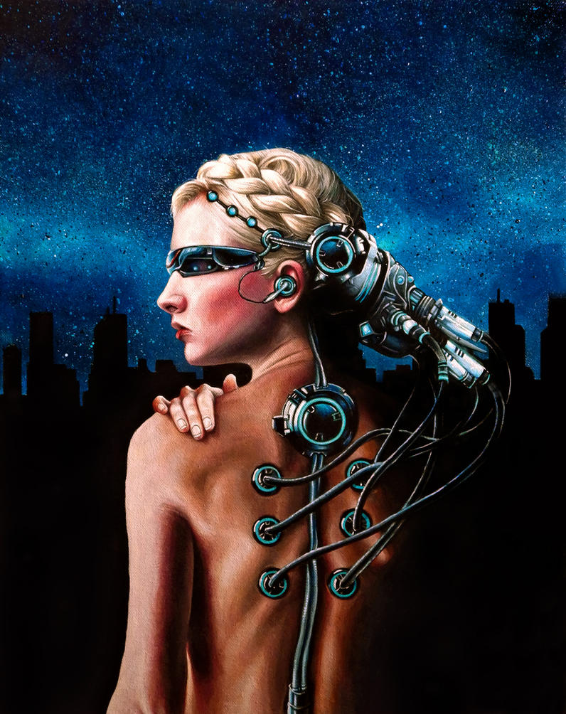 Cyborg Woman by benke33