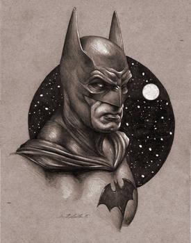 Batman Portrait Sketch