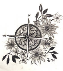 Compass Design by TheBlondeDemonsCreed