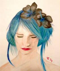 Sea Hair by TheBlondeDemonsCreed