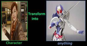 Mary Jane becomes Kamen Rider Kivala