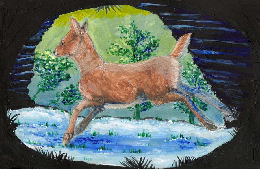 Deer by goosechimera