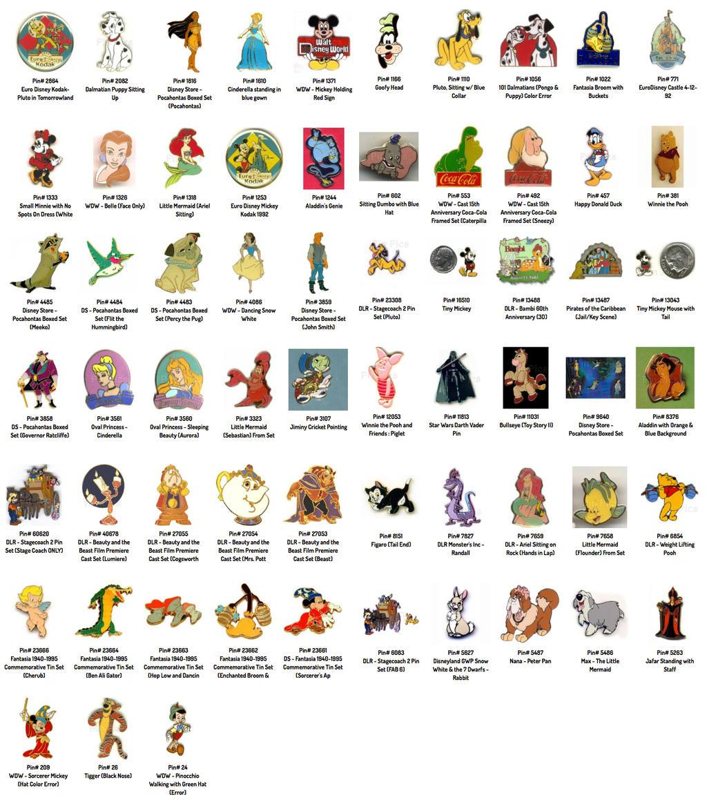 My Disneypins by iambecky
