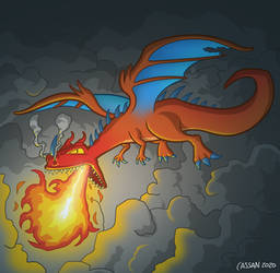 Dragon - not lizard!