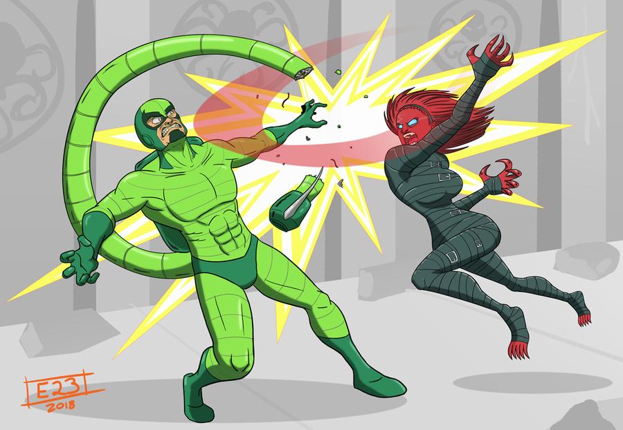 Pennance vs Scorpio by Edil23
