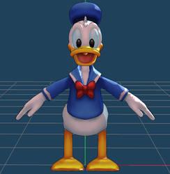 Donald duck by VanMak