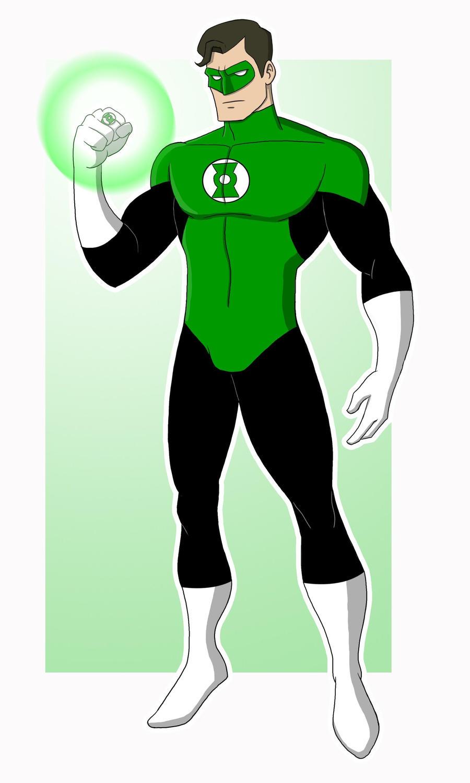 Green Lantern by EadgeArt