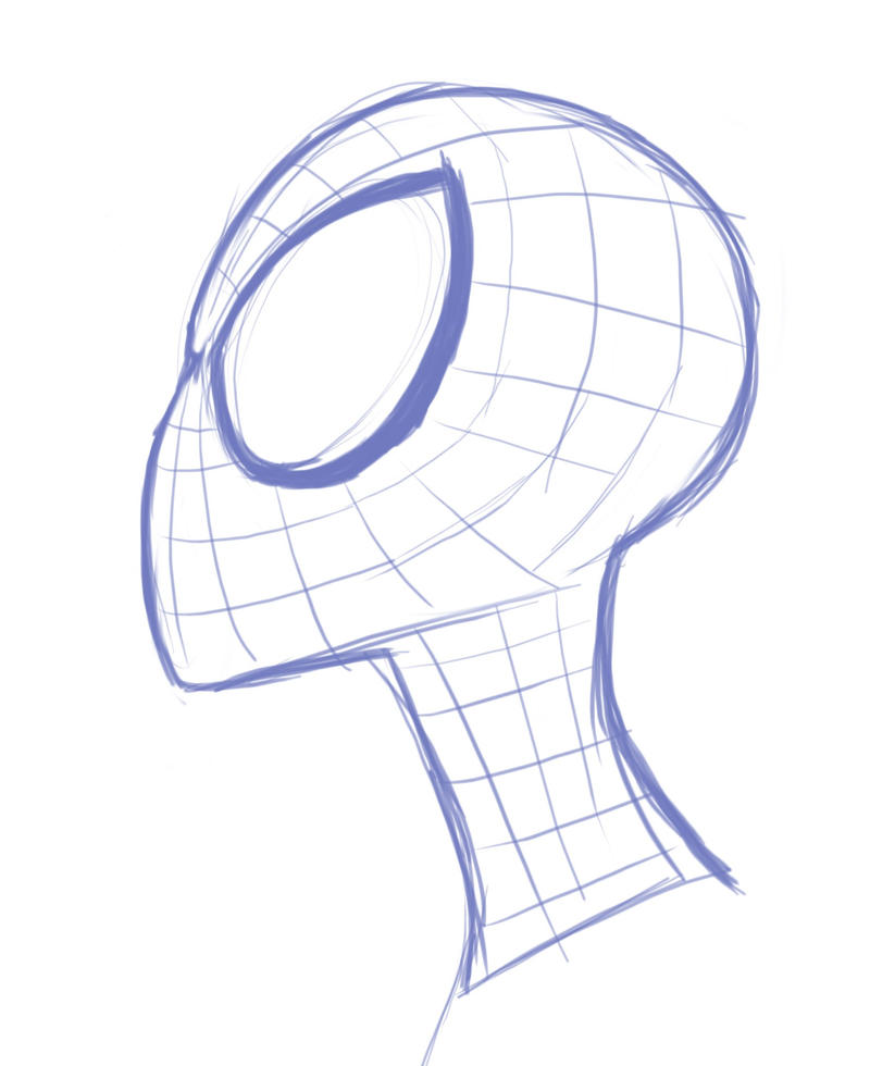 Quick Sketch: Spidey by EadgeArt