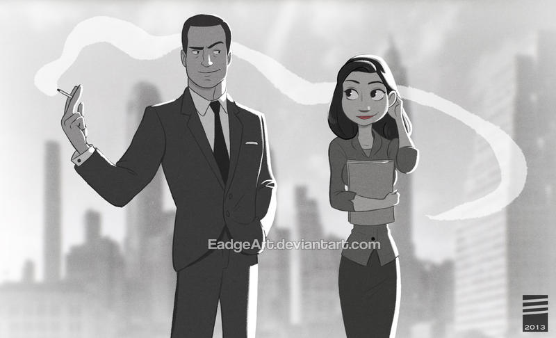 Paper MAD MEN by EadgeArt