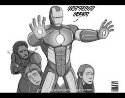GOT SPOILER: Tony Stark to the Rescue by EadgeArt