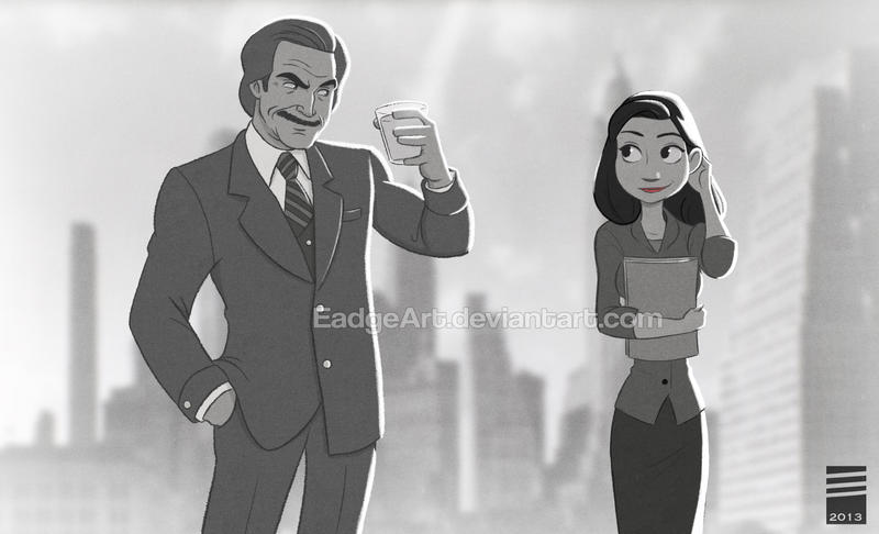 Paper ANCHORMAN by EadgeArt
