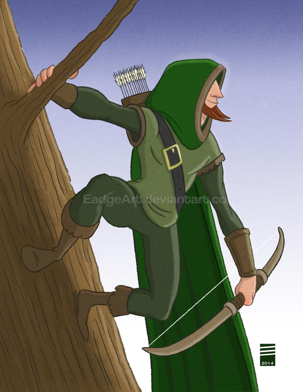 Sketch Dailies #5: Robin Hood by EadgeArt