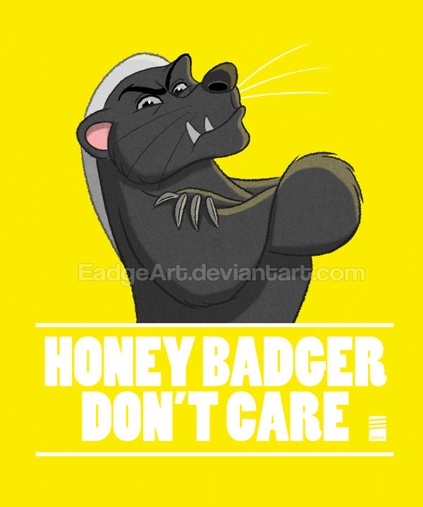 Sketch Dailies #6: Honey Badger by EadgeArt