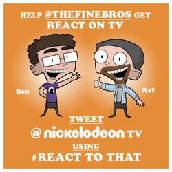 Help get React on Nickelodeon!