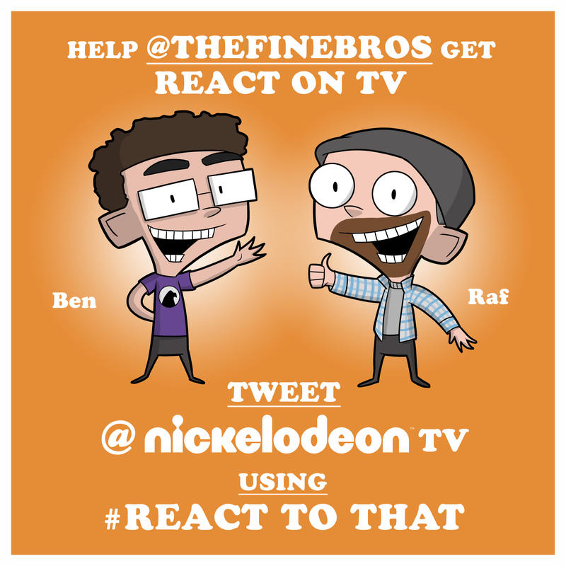 Help get React on Nickelodeon! by EadgeArt