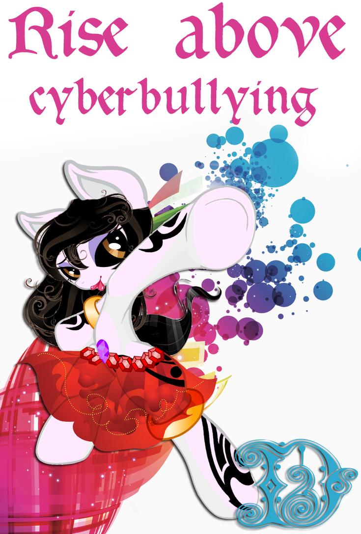 Shadow Moon: No to Cyberbullying by DeMoN8EyE