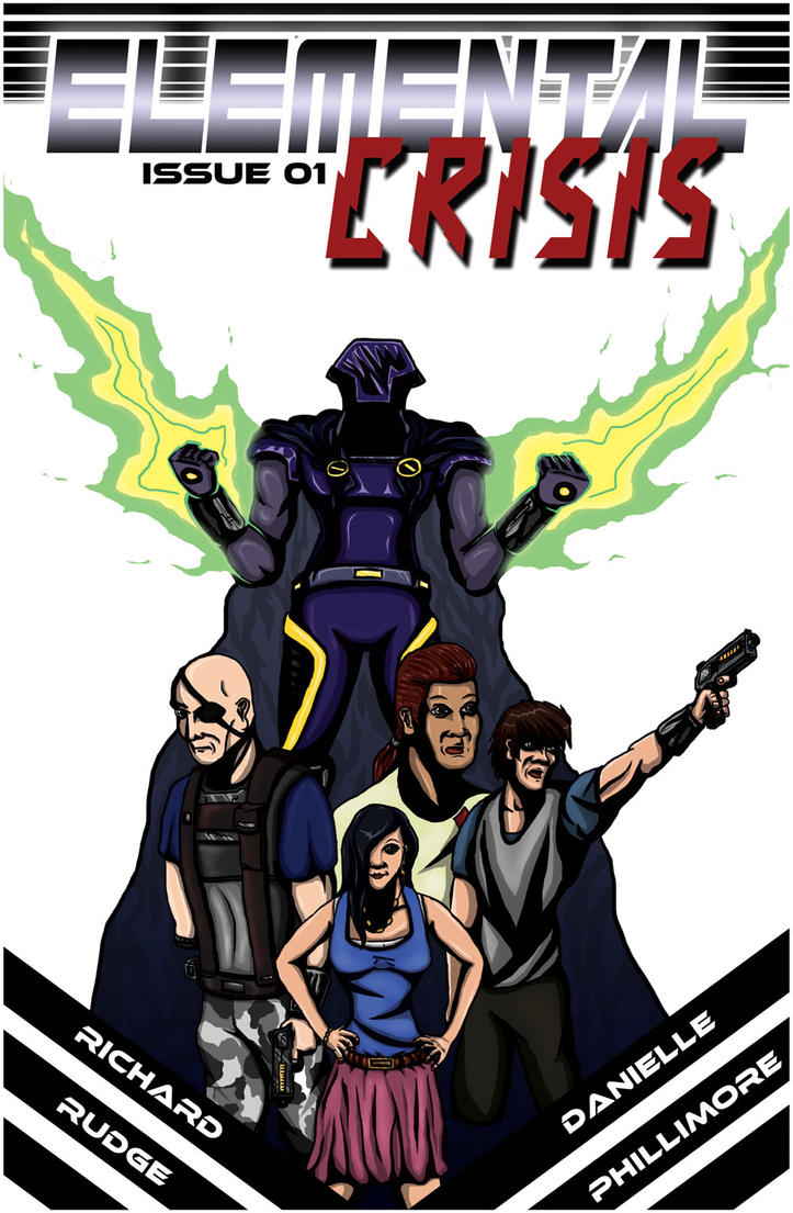 Elemental Crisis Digital Comic Now Available by Cronoman66