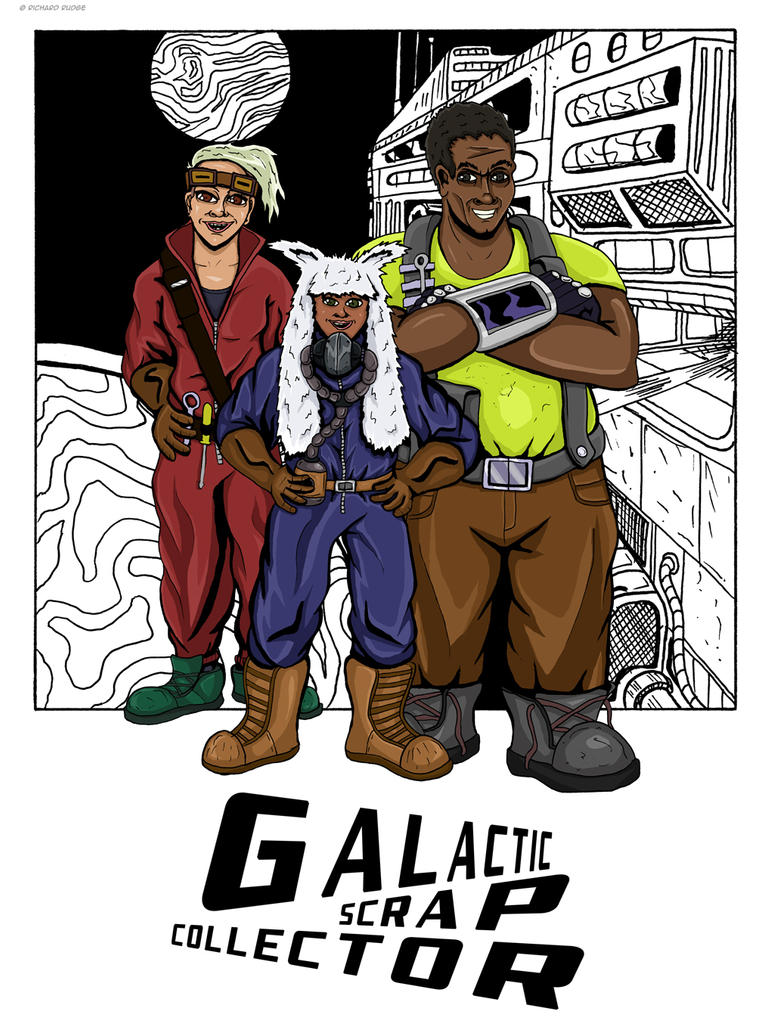 Galactic Scrap Collector by Cronoman66