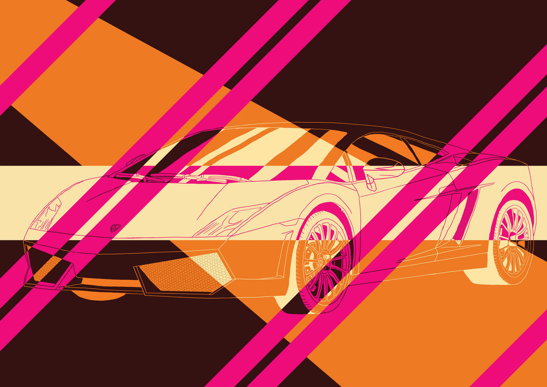 Lamborghini Abstract by Cronoman66