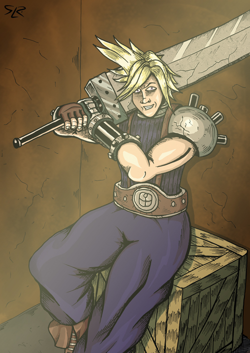 Cloud Strife by Cronoman66