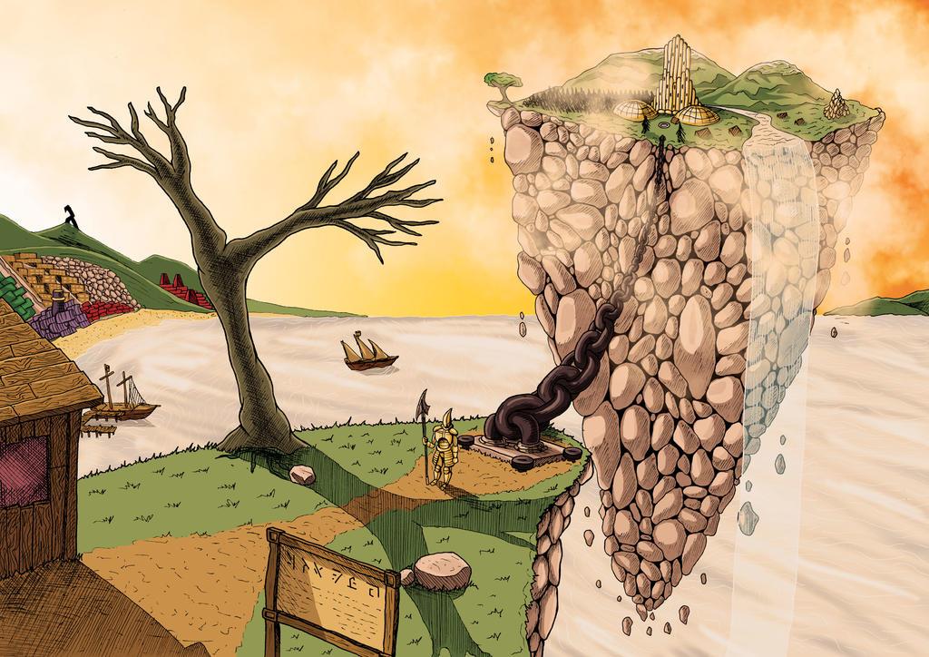 Floating Island by Cronoman66