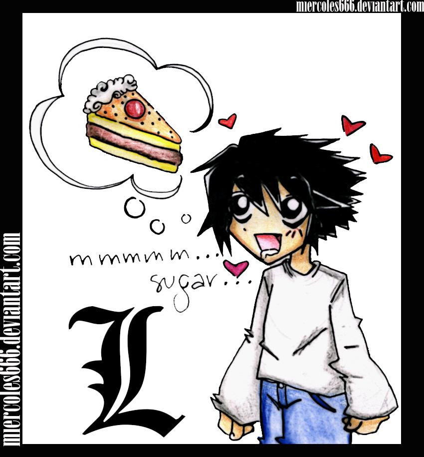 L :chibi obsesion pt.1 by miercoles666