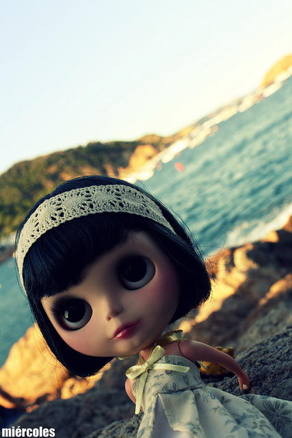 Amelie on the beach... by miercoles666