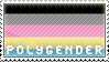 Polygender stamp by Breadbones