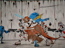 Obi-Wan Clone Wars by Spartan-055