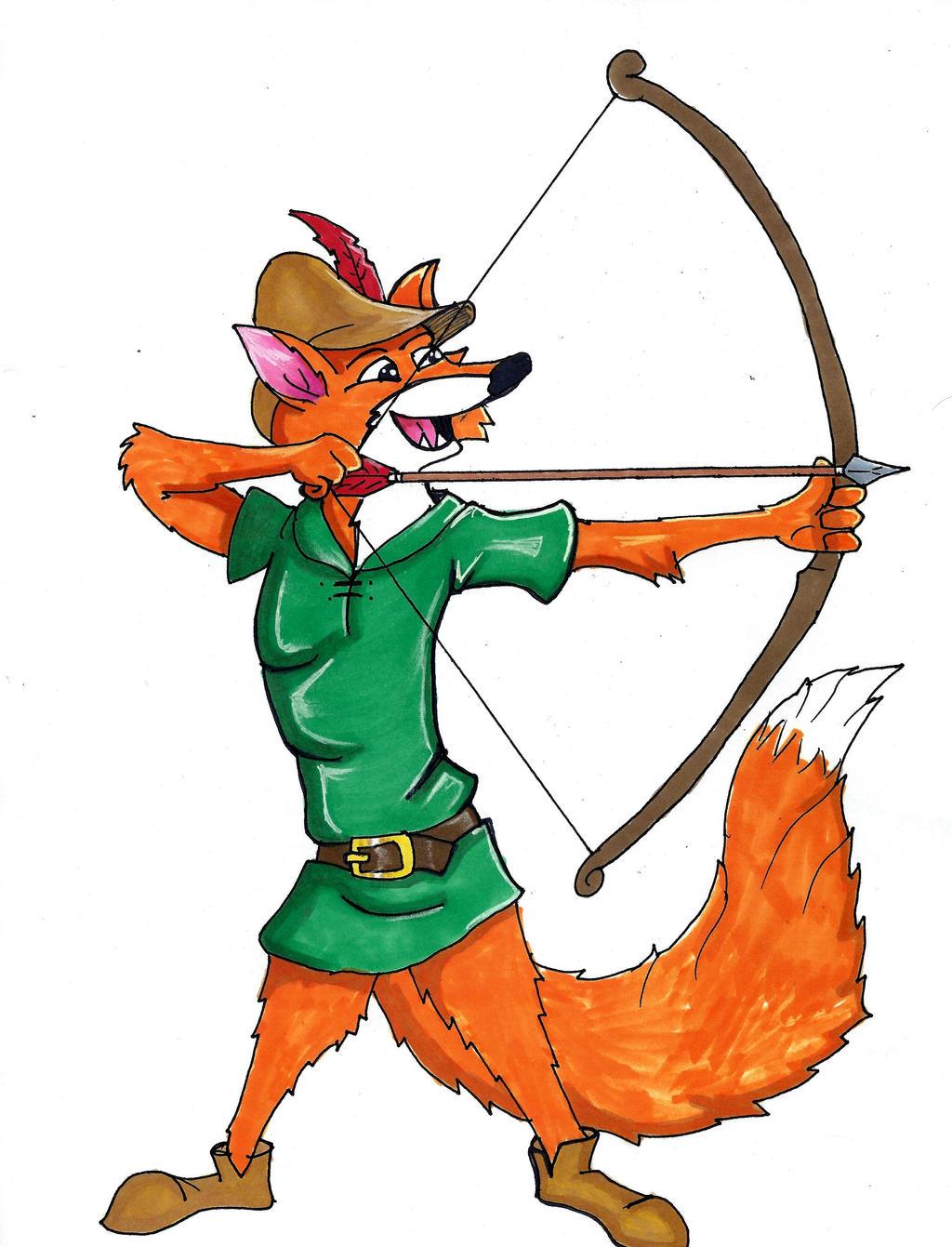 Disney's Robin Hood by Spartan-055 on DeviantArt