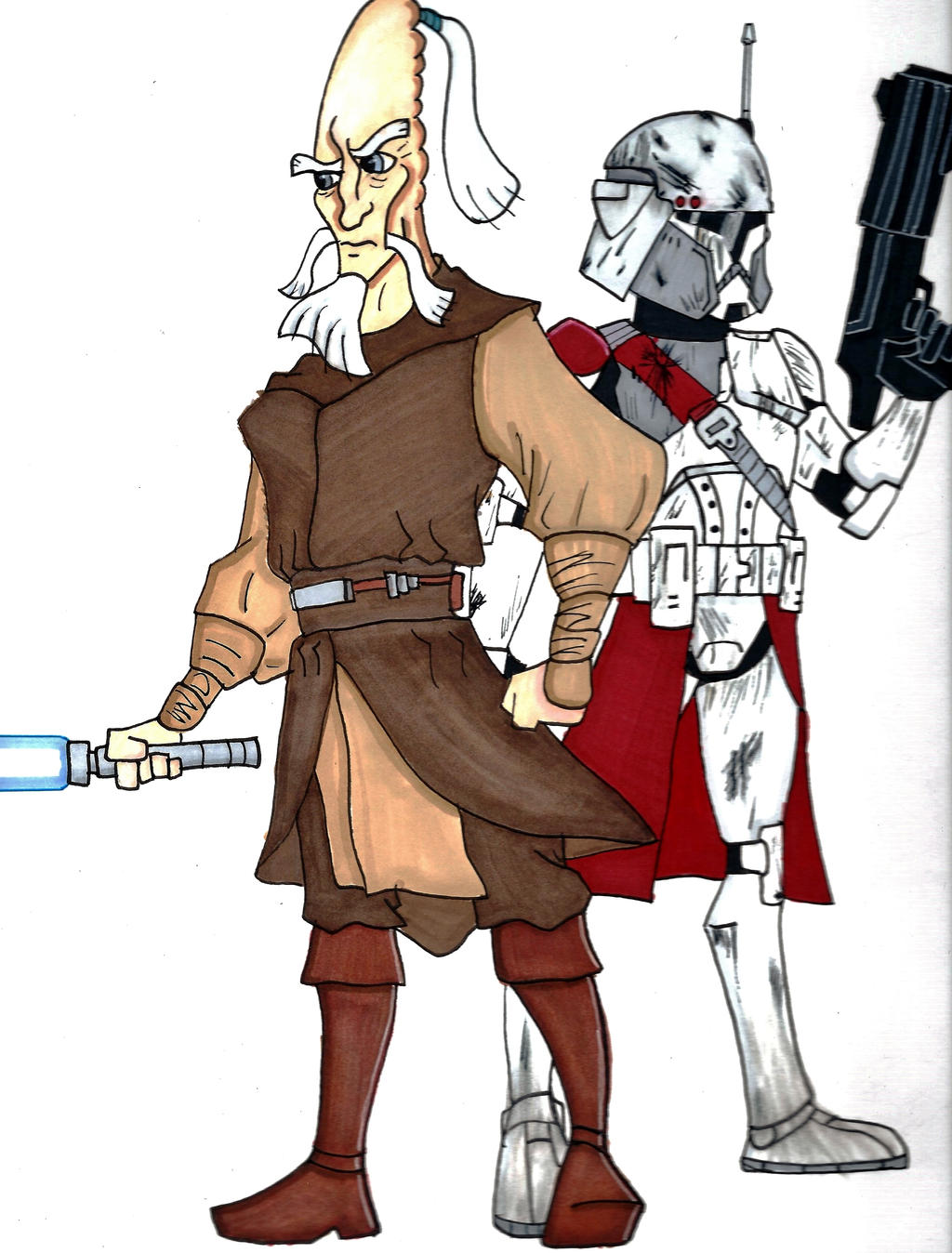 commander appo and general skywalker by spartan 055 on deviantart
