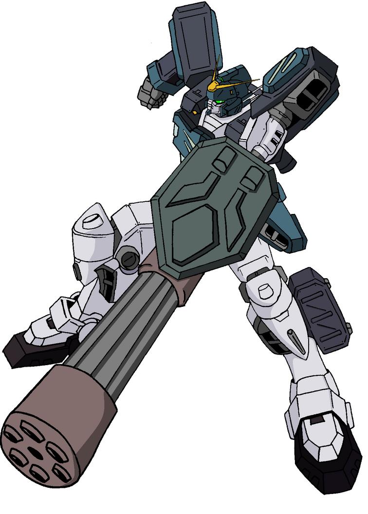 gundam heavyarms ew colors by spartan055 on deviantart