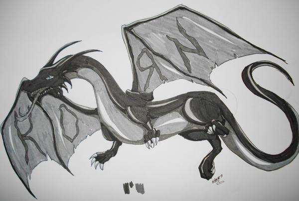 korn dragon tattoo no 2 by evil lord saki on deviantart. Black Bedroom Furniture Sets. Home Design Ideas