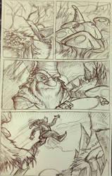 Marshin gnome page 1 pencils
