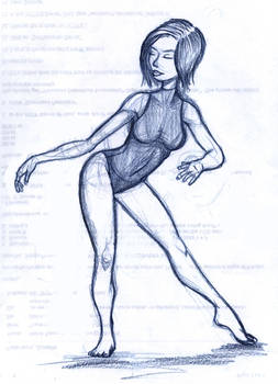 Gymnast Bluepencil