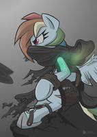 Rainbow Dash - Dishonored Crossover by Lorthiz