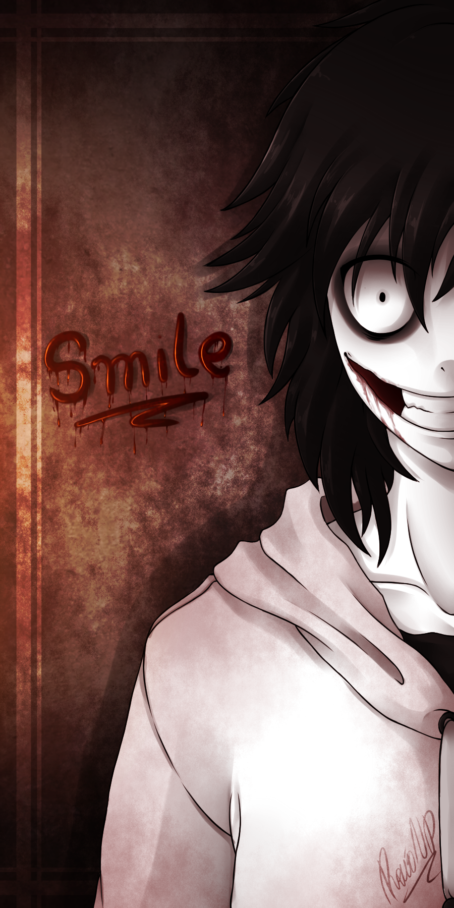 .:Smile - Jeff The Killer:. by PuRe-LOVE-G-S