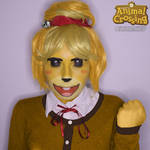 [Makeup-test] Isabelle/Canela from Animal Crossing by Yafira