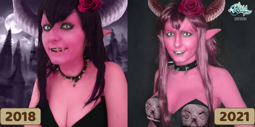 [Makeup-test] Shadowfang from Wakfu 2018VS2021