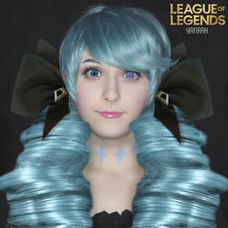 [Makeup-test] Gwen from League of Legends by Yafirah