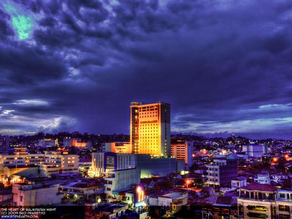 The Heart Of Balikpapan Night By Zenstrive On Deviantart